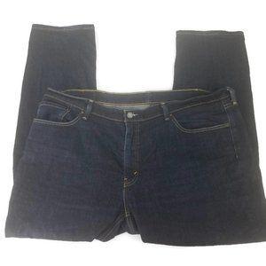 Levis 541 Mens Jeans Straight Leg Dark Blue Denim